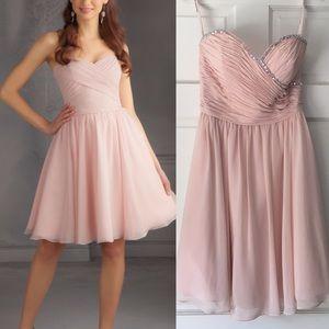 Mori Lee by Madeline Gardner Blush Dress Formal